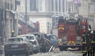 Im Zentrum von Paris kam es zu einer schweren Explosion. (Foto)