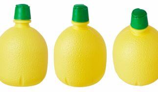 Zitronensaftkonzentrat wegen erhöhtem Sulfitgehalt zurückgerufen. (Foto)