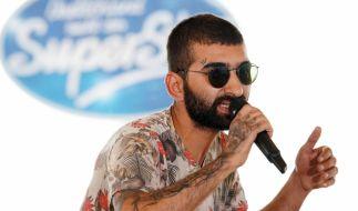 Kandidat Cagri Karpuz aus Schrobenhausen stellt die DSDS-Jury mit seinem Freestyle-Rap auf eine harte Probe. (Foto)