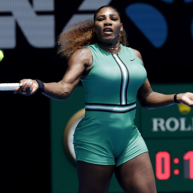 Nackte Haut und Netzstrümpfe! SO sexy sind die Tennis-Damen (Foto)