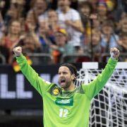Deutsche Handballer beenden WM-Vorrunde mit Sieg gegen Serbien (Foto)