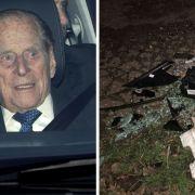 Unfall-Schocker! Mann der Queen unter ärztlicher Beobachtung (Foto)