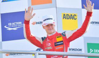 Der deutsche Rennfahrer Mick Schumacher fuhr beim Race of Champions an der Seite von Sebastian Vettel. (Foto)