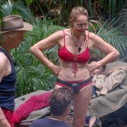 Doreen Dietel zeigte sich ebenfalls im Bikini.