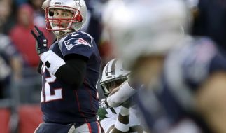 Tom Brady von den New England Patriots. (Foto)