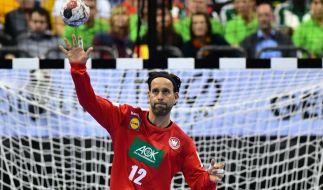 Schnelle Reflexe sind für Silvio Heinevetter das A und O. (Foto)