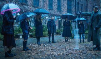 """""""The Umbrella Academy"""" startet im Februar 2019 auf Netflix. (Foto)"""