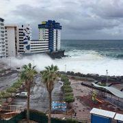 Schnee und Orkane! Unwetter erschüttern Mittelmeerraum (Foto)