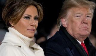 Melania Trump und ihr Ehemann Donald Trump. (Foto)