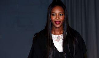 Naomi Campbell begeisterte auf der Fashion Week Paris. (Foto)