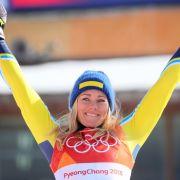 Als Ski-alpin-Athletin hat Frida Hansdotter eine erfolgreiche Karriere gestartet.