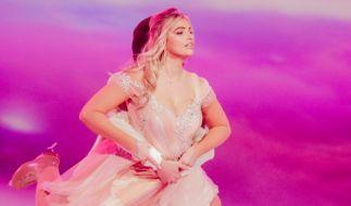 "Sarina Nowak begeistert bei ""Dancing on Ice"". (Foto)"