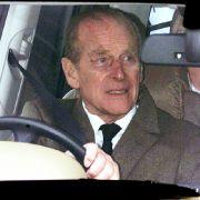 Mann von Queen Elizabeth II. gibt nach seinem Crash klein bei (Foto)
