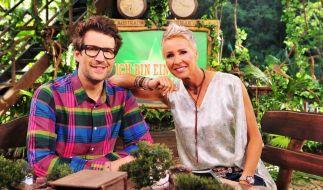 """Sonja Zietlow und Daniel Hartwich führten auch in diesem Jahr wieder durch die RTL-Show""""Ich bin ein Star - Holt mich hier raus!"""". (Foto)"""