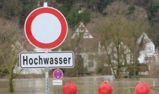 Durch die Schneeschmelze und starke Niederschläge steigt in vielen Regionen die Gefahr von Hochwasser. (Foto)