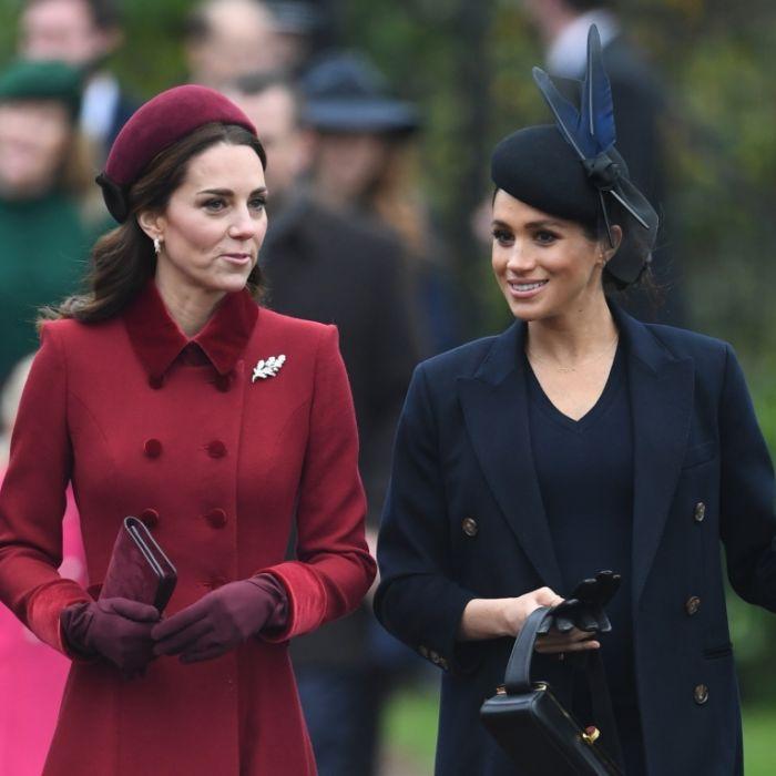 Blanker Hass! DAS müssen Herzogin Meghan und Kate jetzt aushalten (Foto)