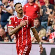 Sandro Wagner steht beim FC Bayern München vor dem Abschied.