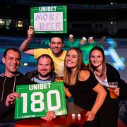 Bei Darts-Turnieren kocht die Stimmung im Publikum regelmäßig hoch.