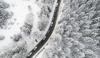 """Tief """"Pirmin"""" schneit einige Regionen Deutschlands ein. (Foto)"""