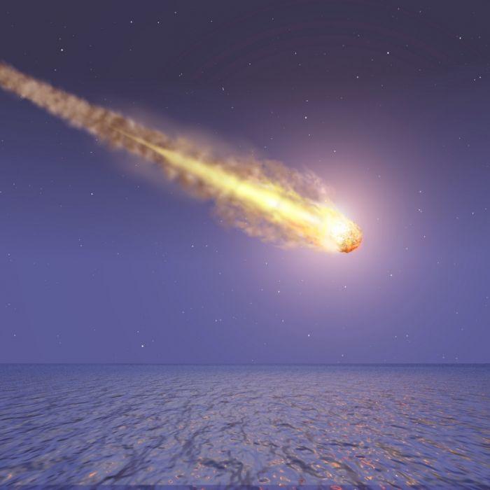 Lichtblitz und Explosion! Video zeigt Meteoriteneinschlag (Foto)