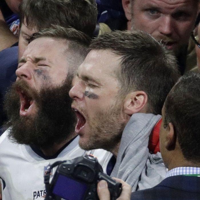 New England Patriots und Brady feiern sechsten Super-Bowl-Triumph (Foto)