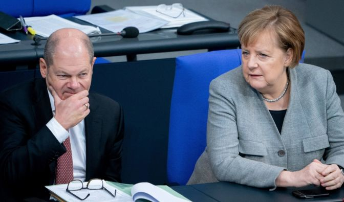 Bundesfinanzminister Scholz warnt