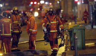 Bei einem Großbrand in Paris kamen mindestens acht Menschen ums Leben. (Foto)