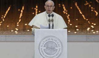 Papst Franziskus hat zum Thema sexueller Missbrauch von Nonnen Stellung bezogen. (Foto)