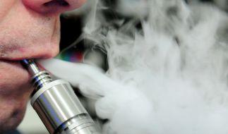 Bei der Explosion einer E-Zigarette kam ein Mann in den USA ums Leben (Symbolbild). (Foto)