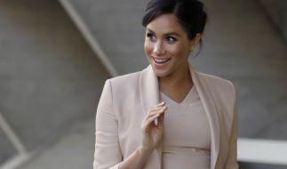 Herzogin Meghan wird in wenigen Wochen zum ersten Mal Mutter. (Foto)