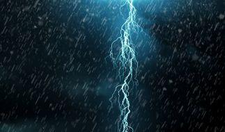 Am Wochenende droht Sturm über Deutschland. (Foto)