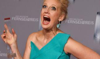 Barbara Schöneberger beim Deutschen Fernsehpreis 2019. (Foto)