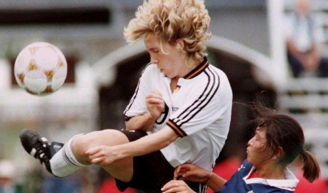Heidi Mohr, Ex-Fußballerin (29.05.1967 - 07.02.2019)