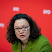 So will SPD-Chefin Andrea Nahles ihre Partei retten (Foto)