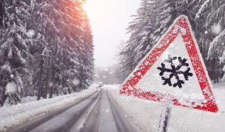 Die neue Woche beginnt winterlich mit Neuschnee und Glättegefahr. (Foto)