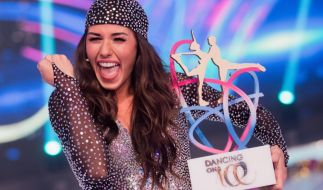 "Sarah Lombardi hat ""Dancing on Ice"" gewonnen. (Foto)"