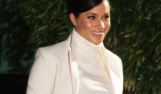 Meghan, Herzogin von Sussex kommt am Natural History Museum in London an. (Foto)