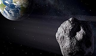 Ein riesiger Asteroid ist auf dem Weg Richtung Erde (Symbolbild). (Foto)