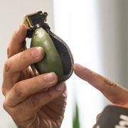 Handgranate auf Autobahnraststätte in Hessen entdeckt (Foto)
