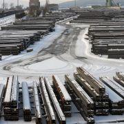 Stahlträger quetscht Bauarbeiter (33) ein - tot! (Foto)