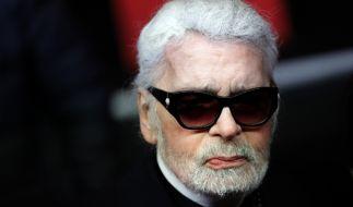 Modeschöpfer Karl Lagerfeld ist im Alter von 85 Jahren gestorben. (Foto)