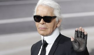Mit Karl Lagerfeld verliert die Modewelt einen der ganz Großen! (Foto)