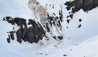 In den Schweizer Alpen ist eine Lawine in dem Skigebiet Crans-Montana abgegangen. (Foto)