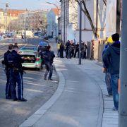 2 Tote nach Schüssen auf Münchner Baustelle (Foto)