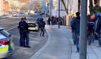 In München-Au musste die Polizei nach einer Schießerei mit zwei Toten mit einem Großaufgebot anrücken. (Foto)