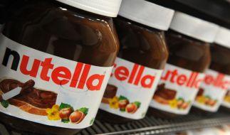 Der italienische Nahrungsmittelkonzern Ferrero hat die Nutella-Produktion im seinem großen nordfranzösischen Werk wegen eines Qualitätsmangels vorübergehend eingestellt. (Foto)