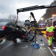 3 Tote nach Horror-Crash in Nordrhein-Westfalen (Foto)