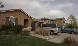 In diesem Haus in Perris im US-Bundesstaat Kalifornien wurden 13 Kinder von ihren Eltern unter grausamsten Bedingungen gequält. (Foto)