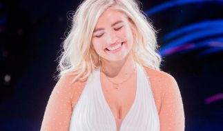 "Sarina Nowak wurde bei ""Dancing On Ice"" Dritte. (Foto)"