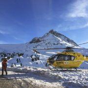Horror in den Bergen!Lawinenabgänge fordern zwei Tote (Foto)